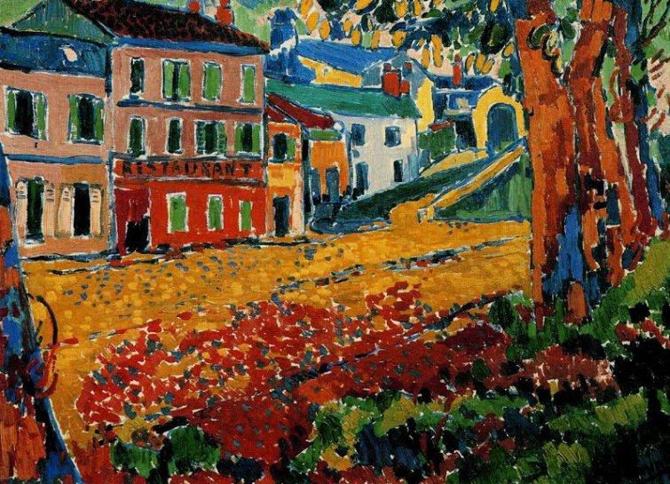 El pintor Maurice Vlaminck Vlamin11