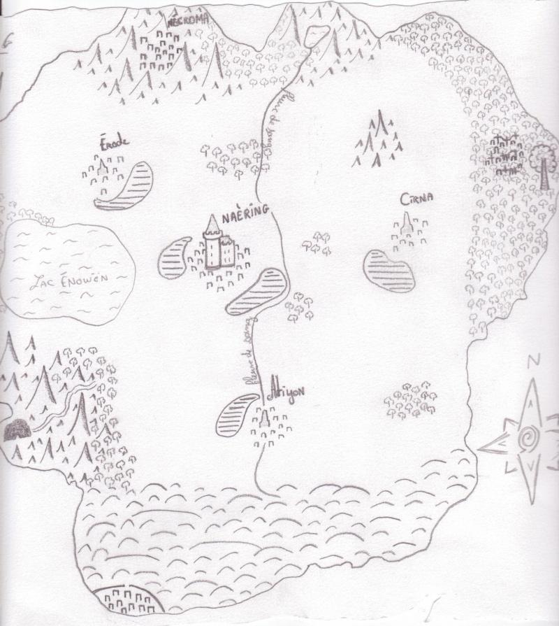 La carte de SpringValley 00110