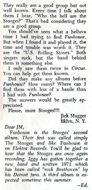 Circus Magazine articles from 71 and 72. Circus13