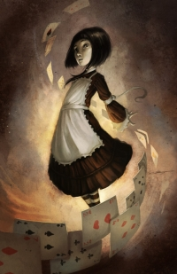 Alice in Wonderland : album et BD. Alice510