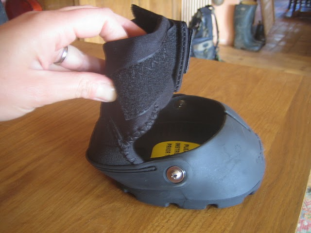 Des hipposandales pour Mic : Easyboot Gloves Balade23