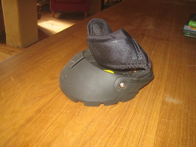 Des hipposandales pour Mic : Easyboot Gloves Balade24