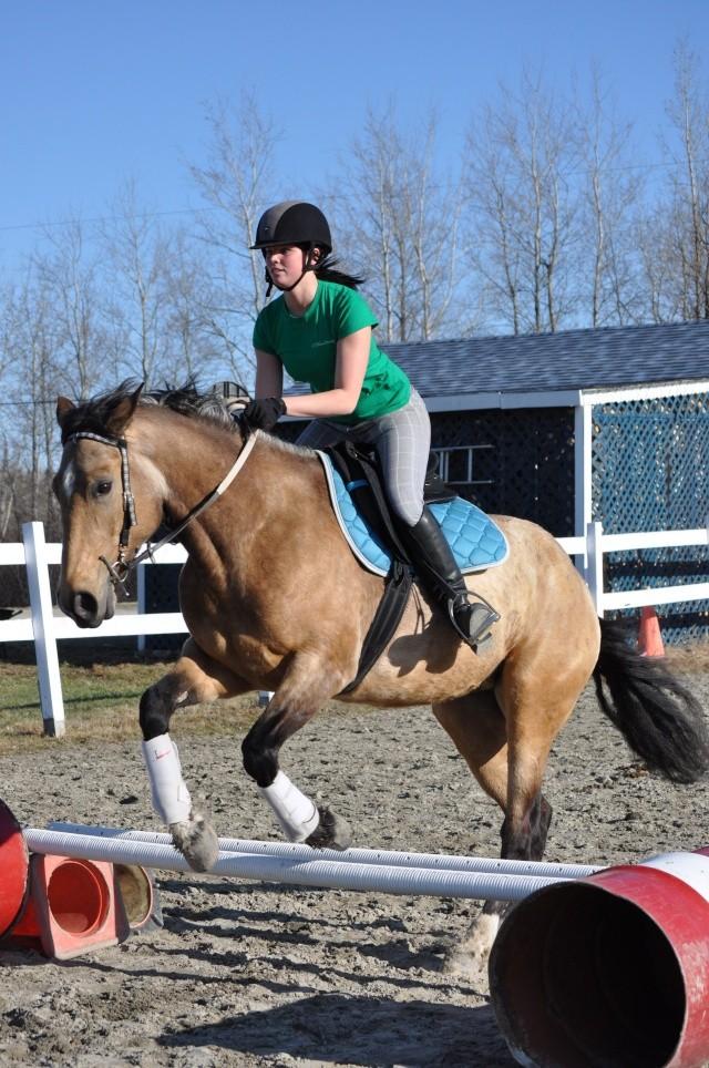 Julie et Sidjy au saut d'obstacle Dsc_0150