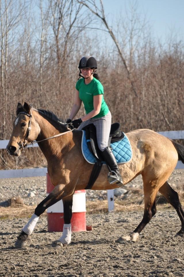 Julie et Sidjy au saut d'obstacle Dsc_0152