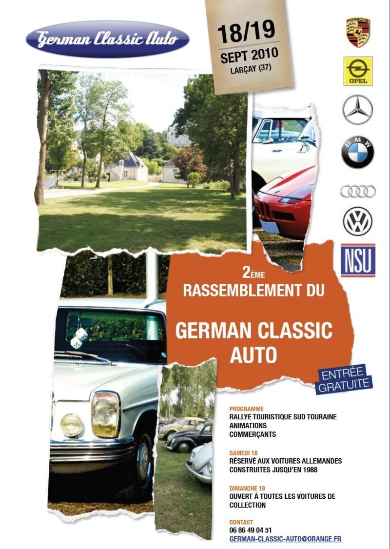 2 eme German Classic AUTO  à Larçay (37) Nouvel10