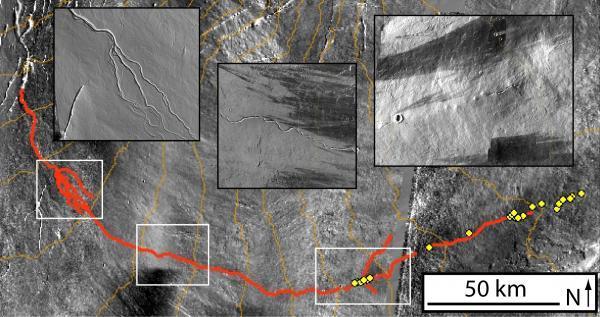 Canali di Marte creati dalla lava e non dall'acqua! Marte_10
