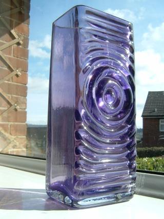 Zyclon style glass vase ? 00237