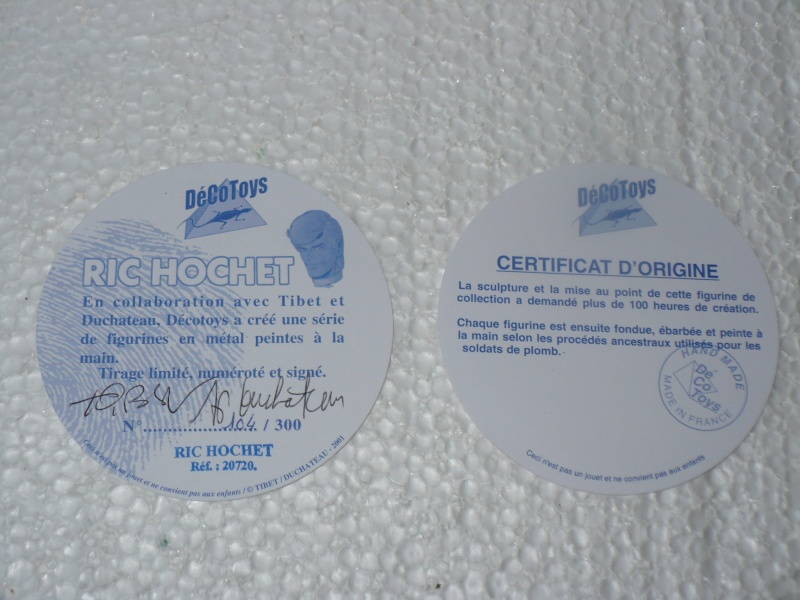 Ric Hochet Décotoys 00115
