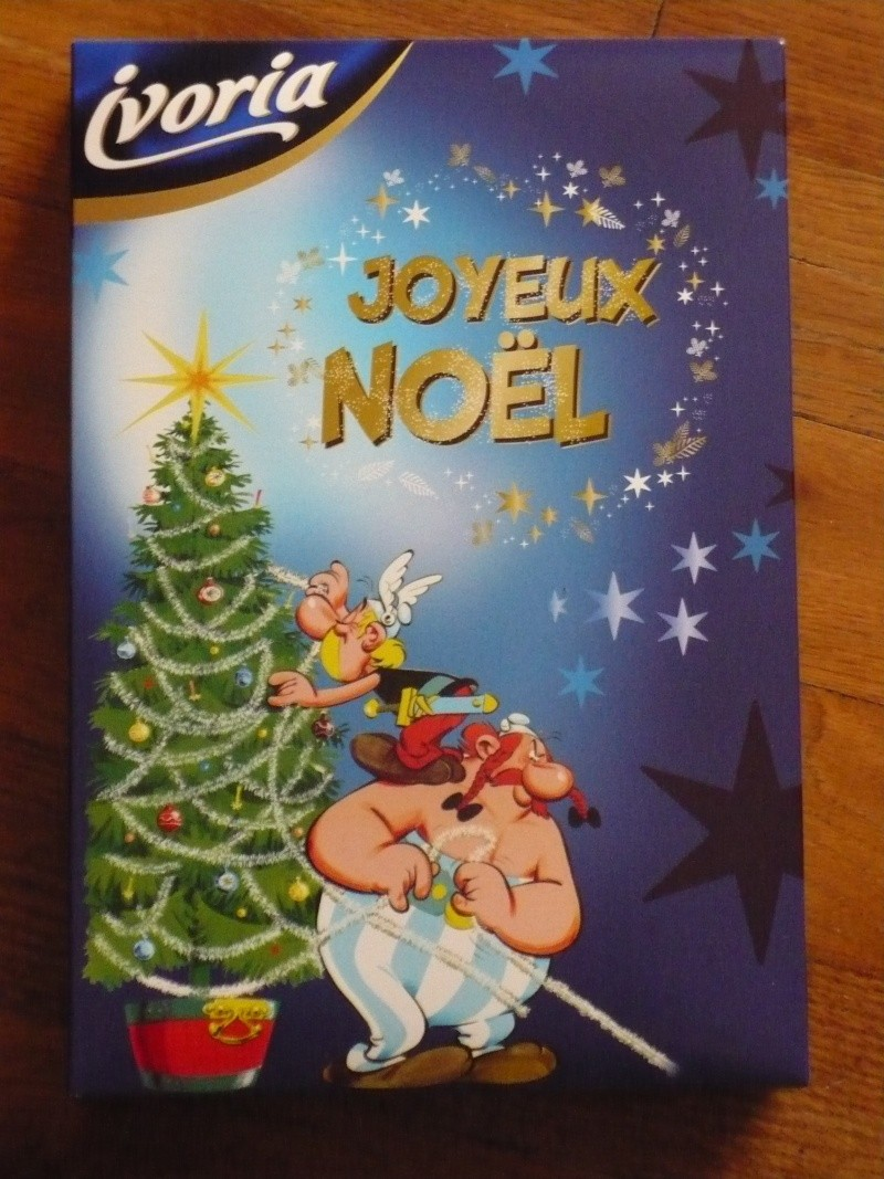 boite chocolats de noel asterix 00525