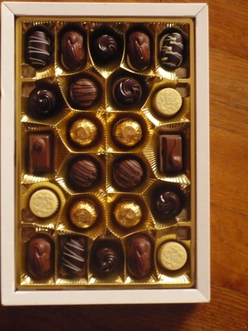 boite chocolats de noel asterix 00610