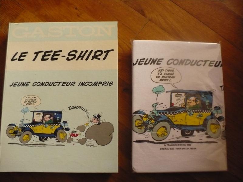 Tshirt gaston 01311