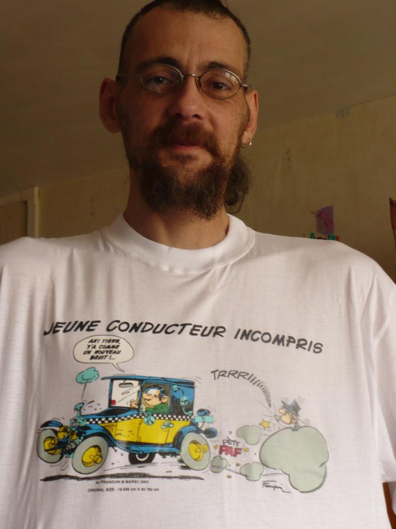 Tshirt gaston 01514