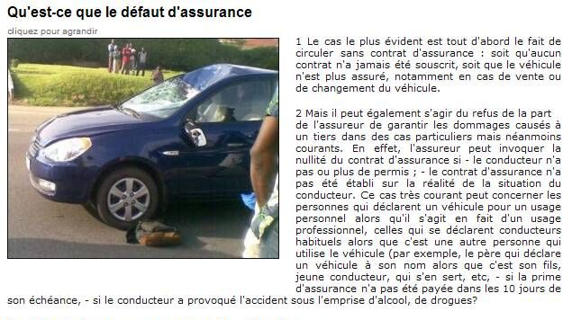 Prévenir la non assurance automobile Captur39