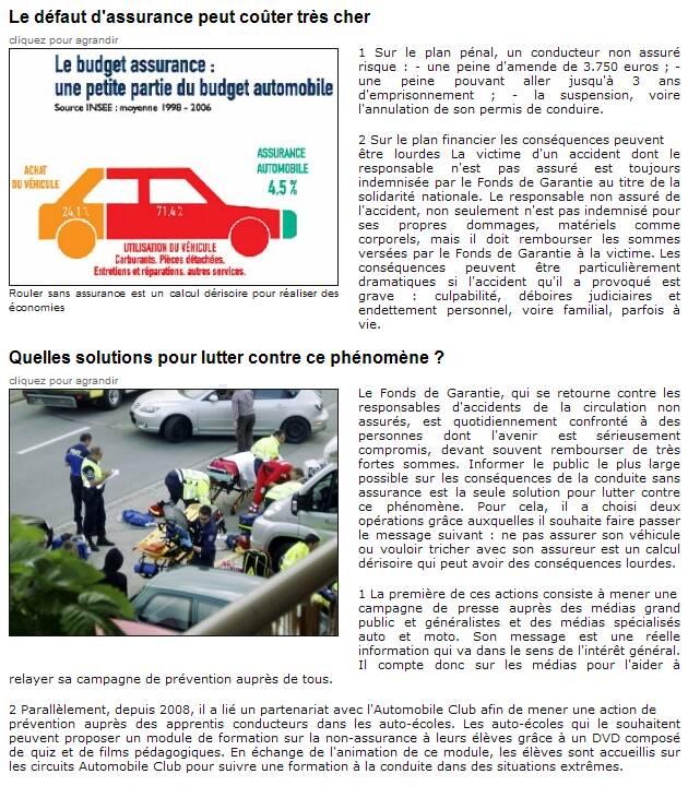 Prévenir la non assurance automobile Captur40