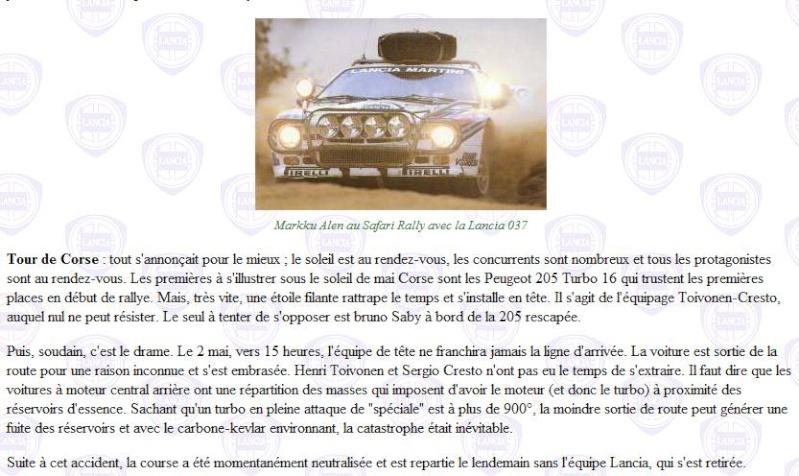 Superbe vidéo groupe B Lancia10