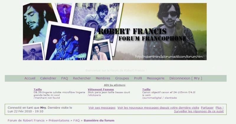 Bannière du forum Rfelo210