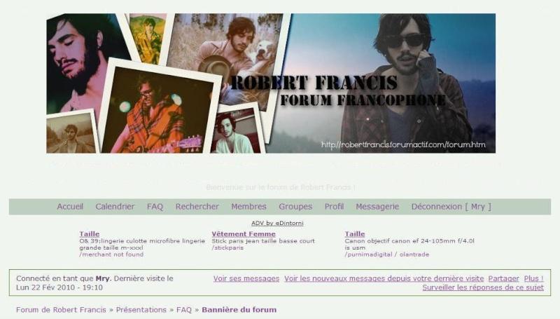 Bannière du forum Rfelo310