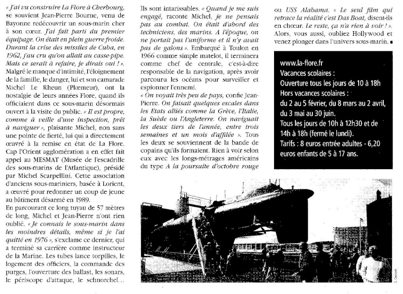[Les musées en rapport avec la Marine] INAUGURATION DU MUSÉE DE LA FLORE - BSM KÉROMAN - Page 4 216