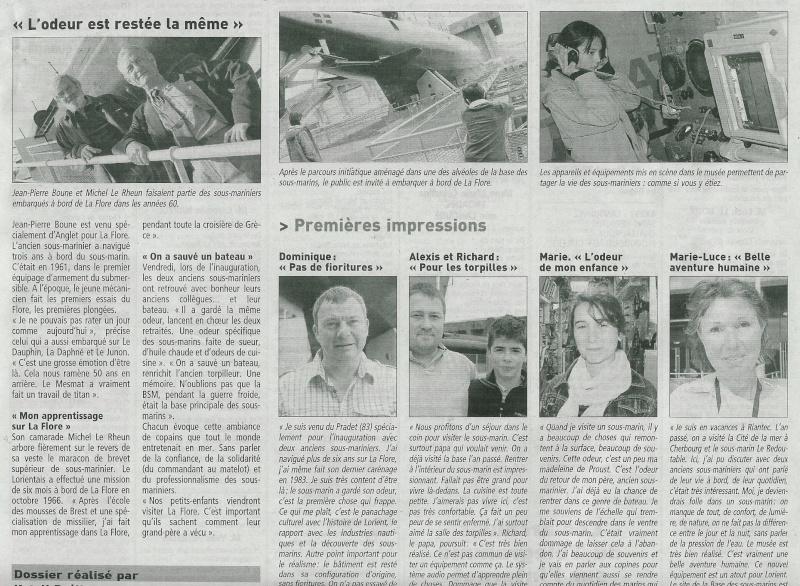 [Les musées en rapport avec la Marine] INAUGURATION DU MUSÉE DE LA FLORE - BSM KÉROMAN - Page 2 Inaug_10