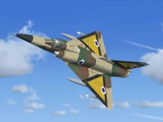 SkySim lança Dassault Mirage III Mirage10