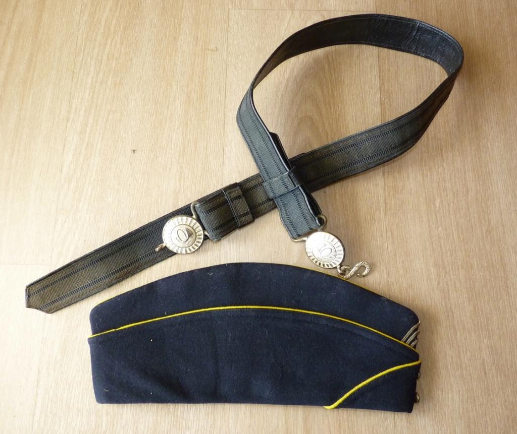 Ensemble officier Chasseur (Bdp mle 57 et ceinturon mle  52) P1160221