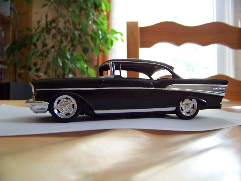chevy 57 bel air  2 revell snaptite 1/24 1_3510