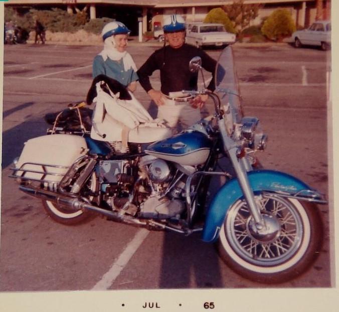 NOSTALGIA vieilles photos H-D d'époque - Page 4 Trip710