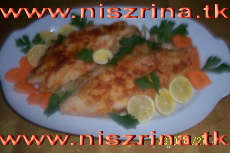 وصفة سمك فيليه بالفرن  100_6711
