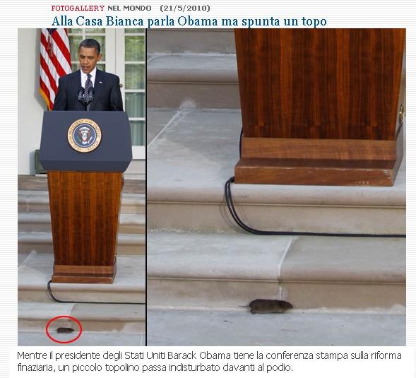 Obama e...il topo Topo10