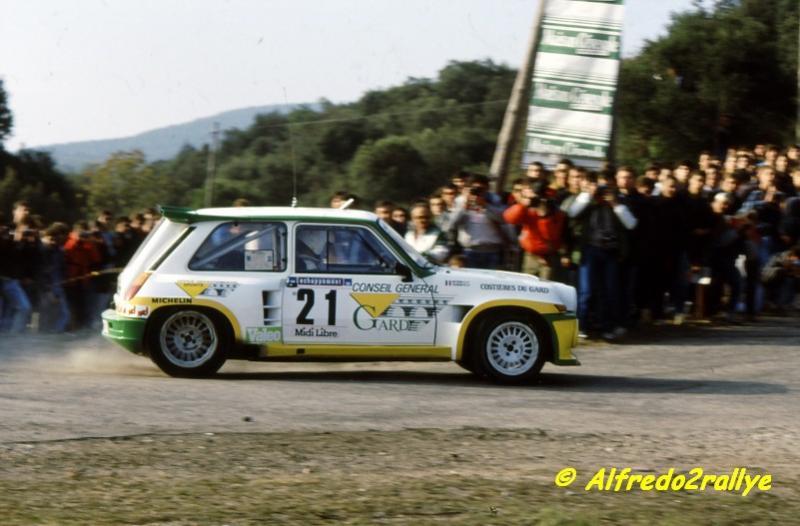 Critérium des Cévennes 1986 Touren10