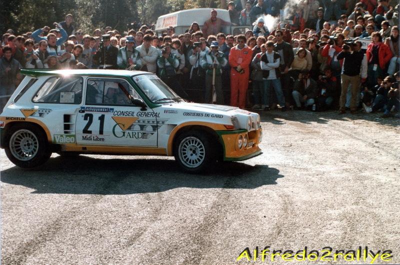 Critérium des Cévennes 1986 Touren11