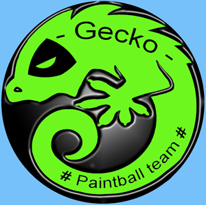 Gecko paintball