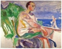 Edvard Munch [peintre/graveur] 1916_h10
