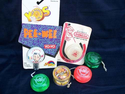 [CONCLUSA VINTA] ebay :  (110509158313)  Lot of 6 Yo-Yos Duncan Yomega Pee We 11050910