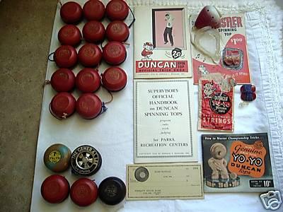 [CONCLUSA NON PARTEC.] ebay 150321513040 huge lot duncan yo-yo books spinning top 25 pcs yo yo - scad. Jan-23-09 12:31:43 PST 779c_110