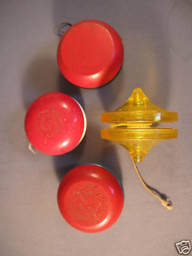 [CONCLUSA VINTA] ebay (280468760955) Four Vintage Yo-Yos Twin Twirler 2 Duncans Whirl King (scad. Feb 28, 2010 12:29:45 PST) Bmqoen10