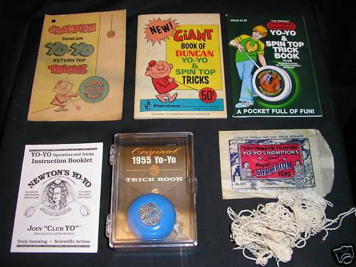 [CONCLUSA NON PARTEC.] ebay 120537030068 - 1960 DUNCAN YO-YO COMIC BOOK PLUS 4 OTHER TRICK BOOKS  scad. (Mar 10, 201019:00:31 PST) Bnkei010