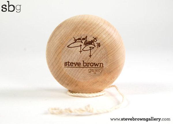 yoyo in legno da Steve Brown Brianm11
