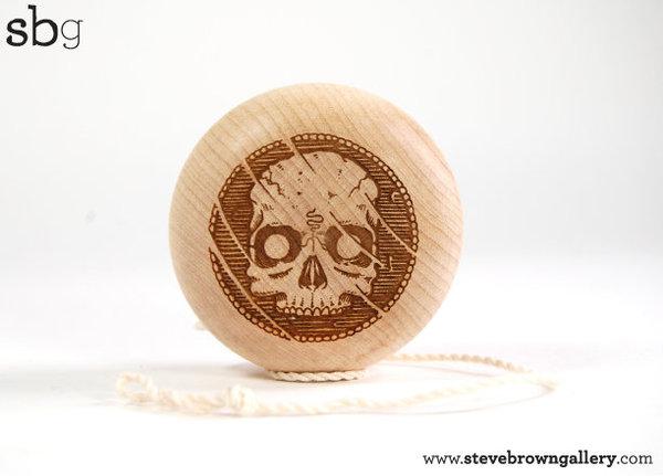 yoyo in legno da Steve Brown Brianm12
