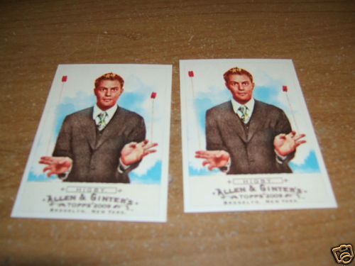 [ACQUISTO CONCLUSO] 2009 Allen & Ginter Black Mini 249 John Higby Bwq8og10