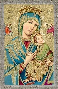 Ma Prière  et Neuvaine à notre Dame du perpetuel secours Marie110