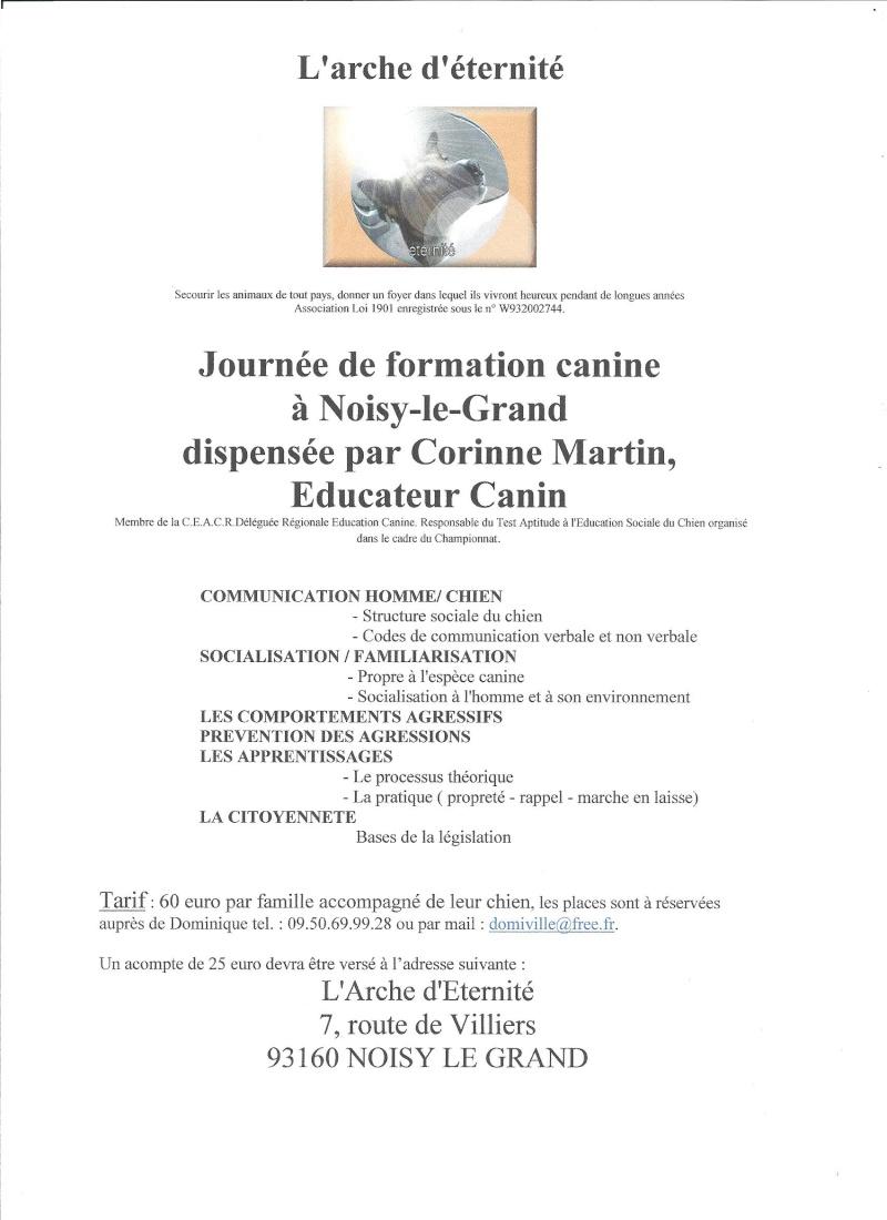 FORMATION CANINE DISPENSEE PAR CORINNE MARTIN Format10