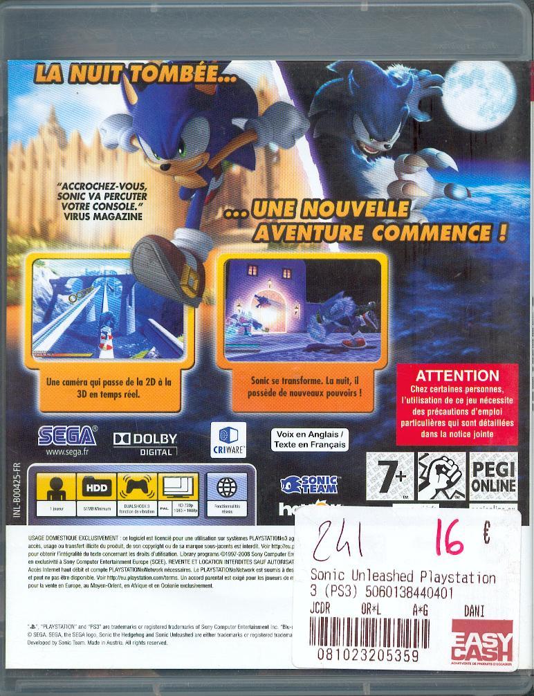 Les jeux PS3 à Korok. Sonic_11