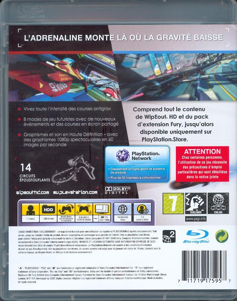 Les jeux PS3 à Korok. Wipeou11