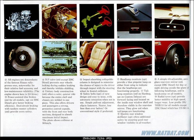 Topic Officiel DATSUN CEDRIC toutes générations! - Page 3 1976_d22