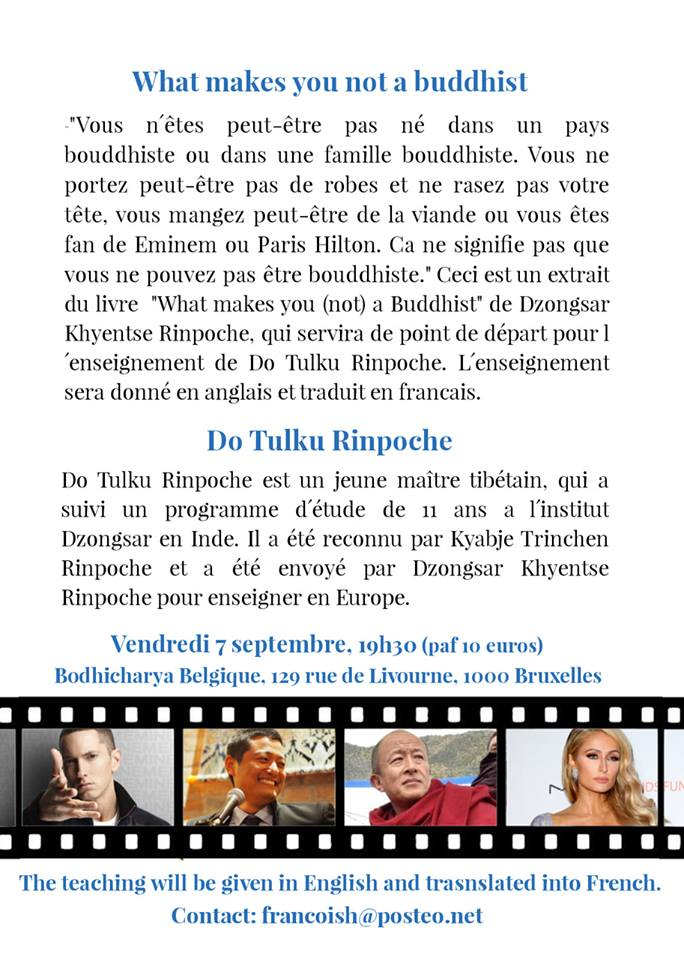 Do Tulku Rinpoché à Bruxelles 38844710
