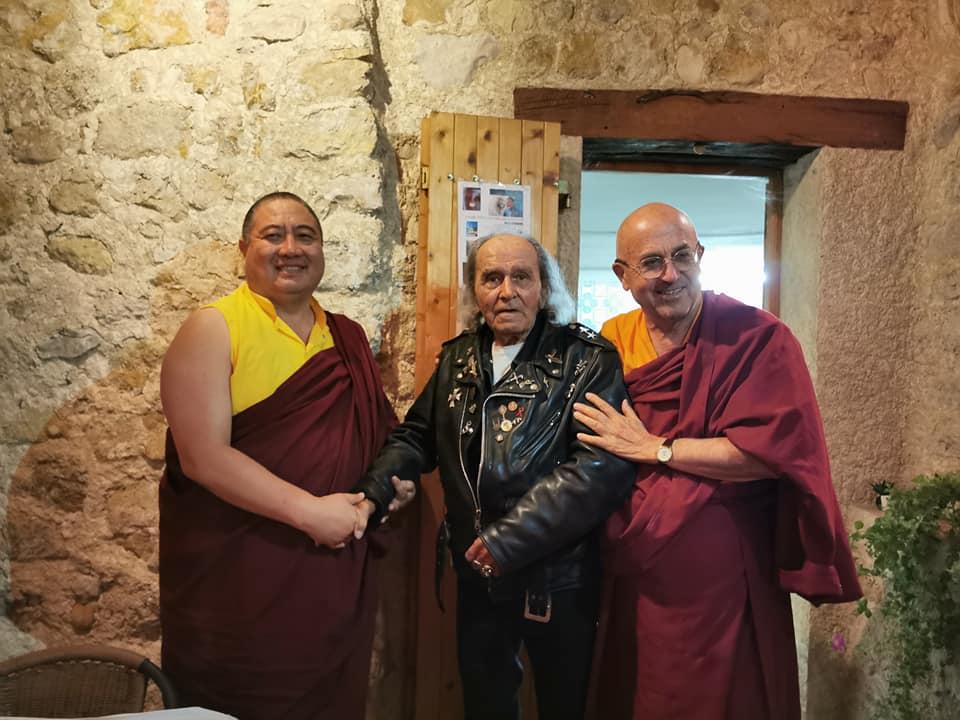 Visite du Père Guy Gilbert 68420410