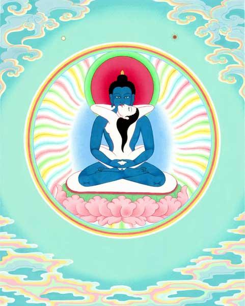 question concernant le Bouddha primordial :  Kuntu_10