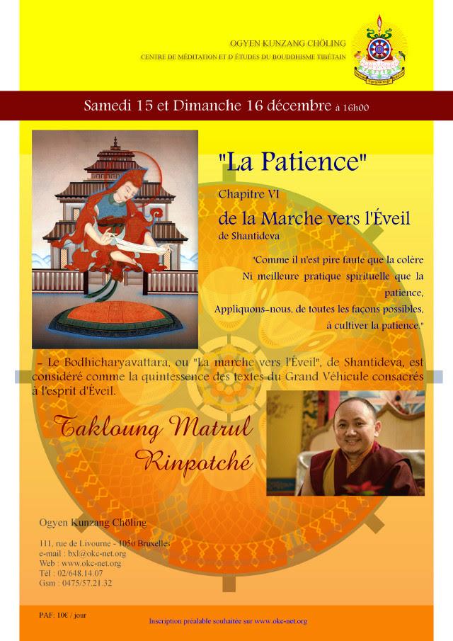MATRUL Rinpoché à Bruxelles décembre 2018 Matrul10
