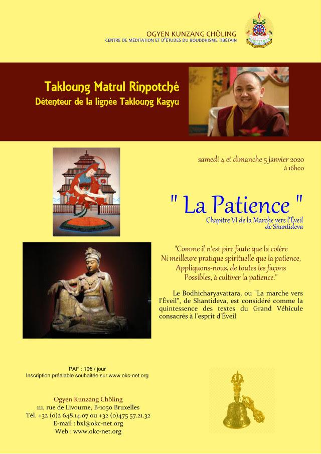 MATRUL Rinpoché à Bruxelles Janvier 2020 Matrul10